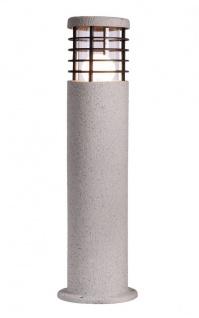 Deko Light Merak Sockelleuchte für Außen weiß-matt IP44 1 flg. E27 Modern