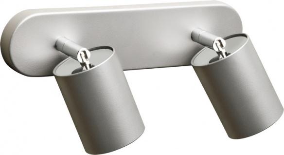 Nowodvorski EYE SPOT moderner Wand & Deckenspot 2er silber