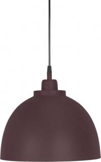 Hochwertige Pendelleuchte aus Metall weinrot PR Home Rochester 30cm E27 dimmbar