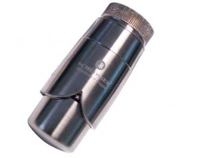 Schlösser Thermostatkopf Brilliant M30 x 1, 5 für Danfoss edelstahl 6005 00012