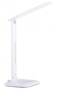 EGLO CAUPO LED Schreibtischleuchte, Touchdimmer, weiss