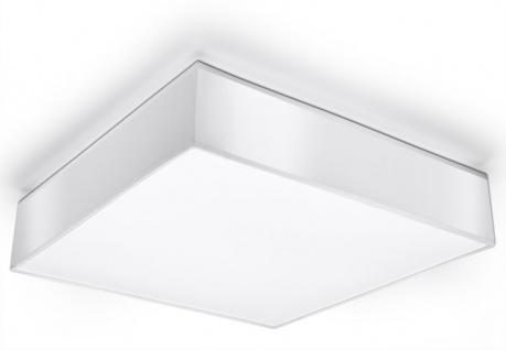 Sollux HORUS moderne Deckenlampe eckig weiss 3-flg. E27