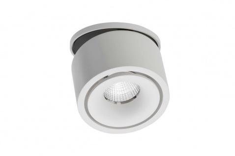 Lumexx Mini Semi LED Einbauleuchte weiß/schwarz 7W, 550lm, 2700k