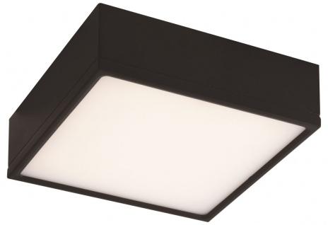 Luce Design Klio LED Deckenleuchte schwarz 2000lm 4000K 17, 5x17, 5x5, 9cm