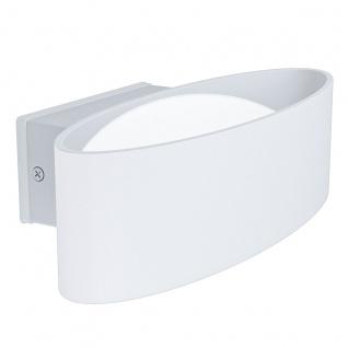 EGLO CHINOA LED Wandaußenleuchte weiß 1100lm IP44 27x7, 5x13, 5cm