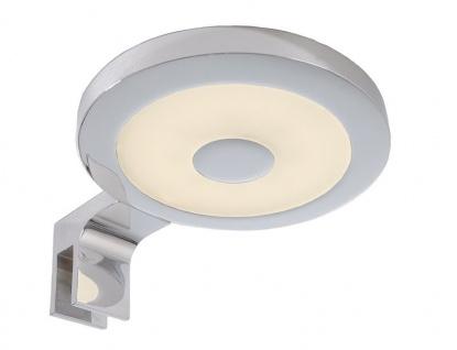 Deko Light Spiegel Rund II Spiegelleuchte LED silber, weiß IP44 240lm 3000K >80 Ra 120° Modern