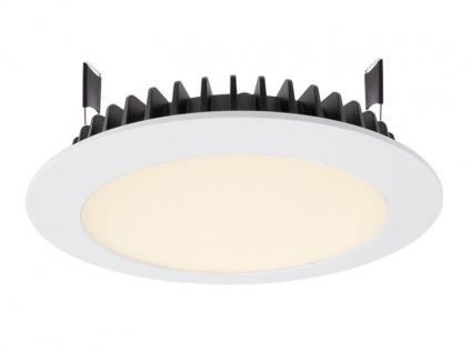 Deko Light LED Panel Round III 20 Einbaustrahler weiß 1980lm 3000K >80 Ra 100° Modern