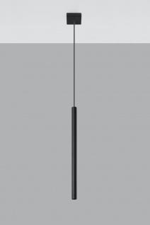 Sollux PASTELO Hängeleuchte schwarz 1-flg. G9