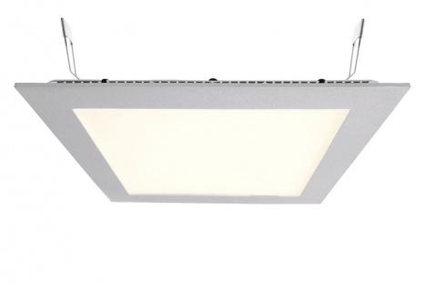 Deko Light LED Panel Square 20 Einbaustrahler silber 1560lm 2700K >80 Ra 110° Modern