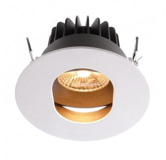 Deko Light Paravado Einbaustrahler LED weiß, schwarz 640lm 2700K >80 Ra 36° Modern