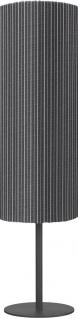 Terrassen Stehleuchte für Außen schwarz gestreift PR Home Agnar IP44 100x25cm E27