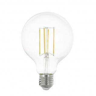 EGLO E27 G95 LED Leuchtmittel 8W 1055lm 2700K 80Ra Filament Globe