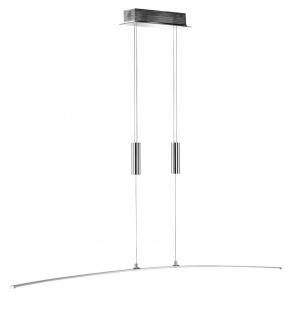 Wofi FREYA 145 LED Pendelleuchte, chrom, 120cm