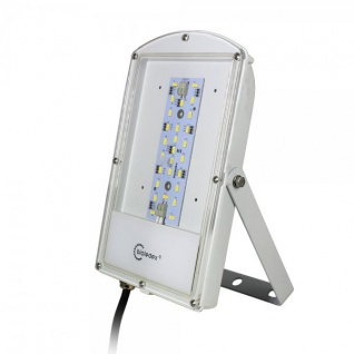 Bioledex ASTIR LED Fluter 12VDC 14W 1350Lm 120° 5000K Grau
