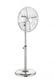 Globo VAN Ventilator chrom, höhenverstellbar
