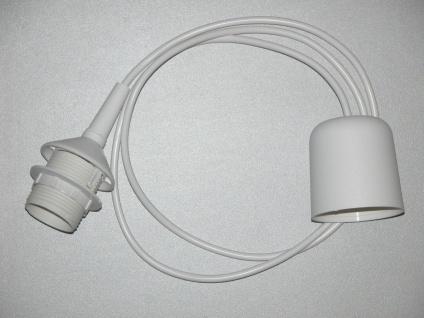 Globo SUSPENSION Deckenleuchte Kunststoff Weiß, 1xE27