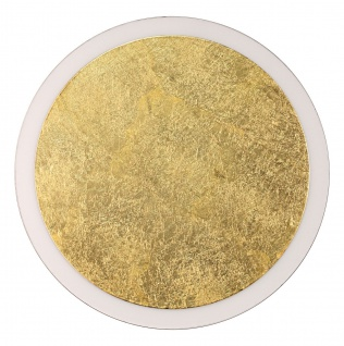 Luce Design Moon LED Wand und Deckenleuchte gold, schwarz 1750lm 3500K 8x44x44cm dimmbar