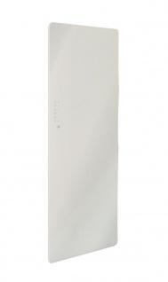 Lohema Design Glas Heizkörper elektrisch Classic 1000W weiss 1220x 600mm