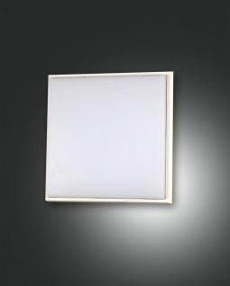 LED Deckenaußenleuchte weiß Fabas Luce Desdy 900lm 180mm IP54
