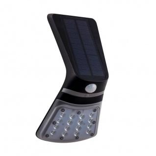 EGLO LAMOZZO 1 LED Solarleuchte Wand schwarz 264lm IP44 10, 5x20cm Bewegungs. u. Dämmerungsschalter