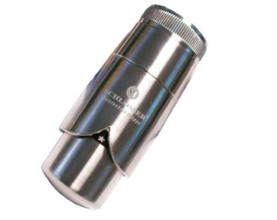 Schlösser Thermostatkopf Brilliant Schnappverschluß für Danfoss edelstahl 6005 00011