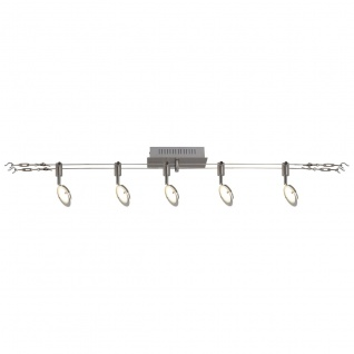 LED Seilsystem stahl blank Näve Tony Scheibe 2x5m 5 flg. 320lm
