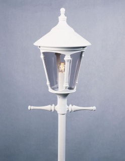 KONSTSMIDE Virgo Weißer Leuchtenkopf
