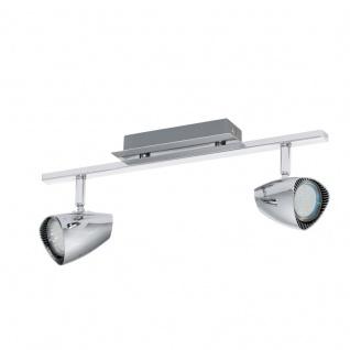 EGLO CORBERA LED Spotbalken, 2-flg. GU10 chrom
