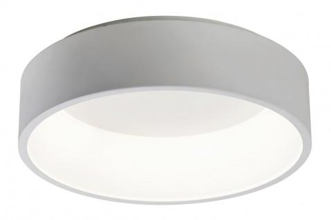 Rabalux Adeline LED Deckenleuchte matt weiß 455mm indirektes Licht rund