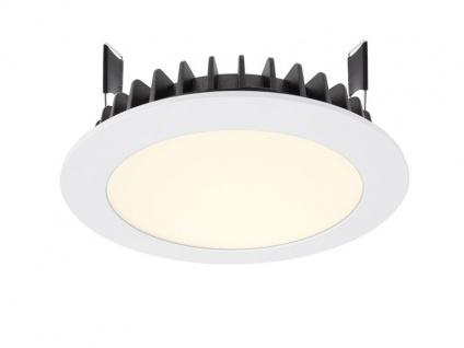 Deko Light LED Panel Round III 12 Einbaustrahler weiß 1310lm 3000K >80 Ra 100° Modern
