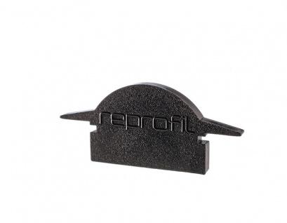 Deko Light Endkappe L-ET-01-10 Set 2 Stk für Profil schwarz