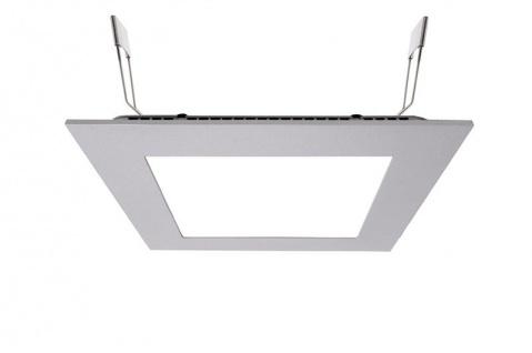 Deko Light LED Panel Square 15 Einbaustrahler silber 1130lm 4000K >80 Ra 110° Modern