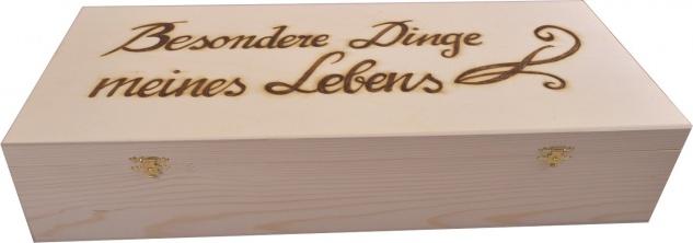 Taufkerzenkassette mit 2 Verschlüssen , 50 cm