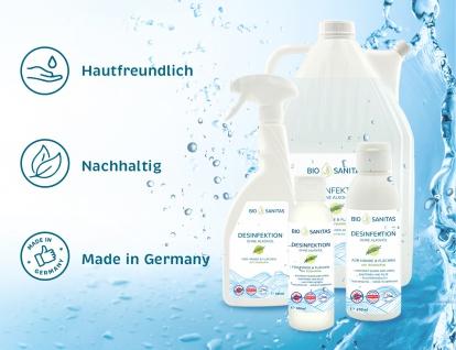 BIO SANITAS Desinfektion - Hände & Flächen To-Go 100 ml 6er Pack - Vorschau 3
