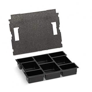 Bosch Sortimo L-Boxx 102 Gr1 anthrazit inkl. Kleinteileinsatz mit 8 Mulden