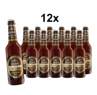 Rieder Bier Kürbiskernbier 12x 0, 33l Karton