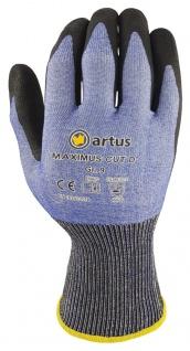 Artus Arbeitshandschuhe Montage-Strickhandschuh 18 Gauge, Schnitt-Strickhandschuh Artus Maximus Cut D, 12er Pack, Schutzhandschuh EN388:2016 - 4X42D, Größe 9 / M - Vorschau 2