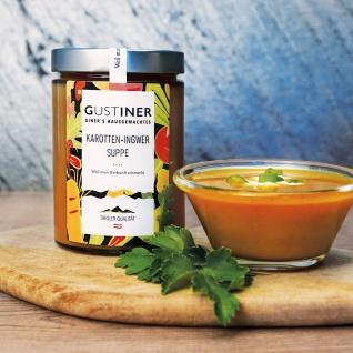 Karotten Ingwer Suppe 500g 4er Pack essfertig