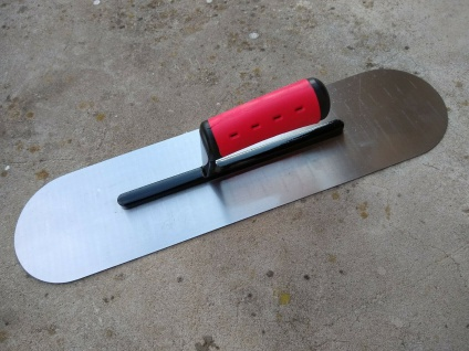 BODENLEGERKELLE ZWEISEITIG HALBRUND 48x12cm 2K Grif Bandstahl Bodenlegerwerkzeug