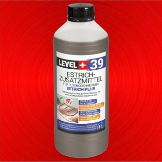 1 L Zementestrich-Estrichzusatzmittel-Fussbodenheizung-Heizestrich TOP RM39