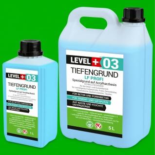 TiefenGrund LF PROFI 1L -30L Grundierung 1:1 MIT WASSER Tiefgrund Acryl TOP RM03