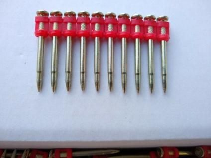 Betonnägel HB42_38 ø3, 0-2, 6x38mm 1000 Stück für PULSA 700, 1000, Würth /ohne Gas