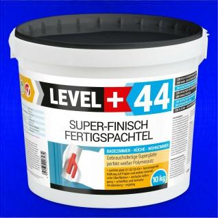10 kg Super Finish, Fertig Spachtelmasse, Fugenspachtel PERFEKT GLATT RM44