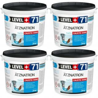 80 kg Natriumhydroxid NaOH Ätznatron Rohrreiniger Soda Rohrreiniger RM71