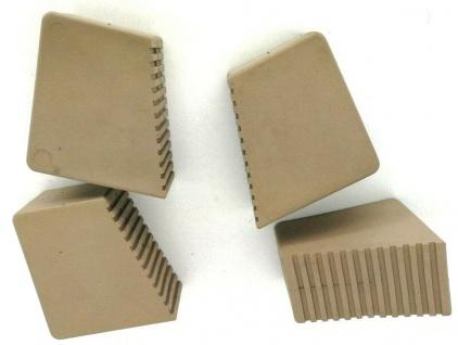 Gummifüße für Holzstehleitern 3-8 Sproßen Sandfarben 4 Stück HALBAU HB40_S4