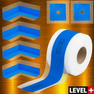 DichtSet LEVEL+ 10m Dichtband 4x Innenecken 2x Wandmanschette Dusche Bad SETB11