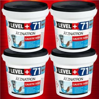 4kg kaustisches Soda Natriumhydroxid NaOH, Ätznatron, RM71