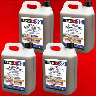 Heizestrich 20L Estrichzusatzmittel für Zementestriche - Prpfi Qualität RM39