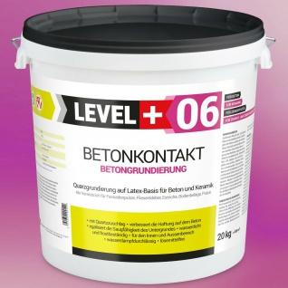 Betonkontakt 20kg AUF OSB-PLATTEN UND HOLZ Putzgrund Qualitätsgarantiet RM06