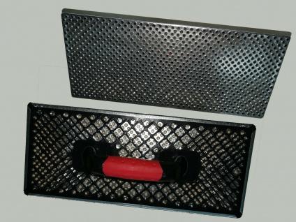 WDVS Schleifbrett Raspel Egalisierungsbrett 380x160 Porenbeton Styropor Raspel